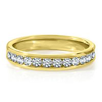 1/2 ct. tw. Diamond Band in 14K Yellow Gold
