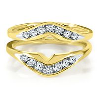 1/2 ct. tw. Diamond Ring Enhancer in 14K Yellow Gold