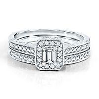5/8 ct. tw. Diamond Engagement Ring Set in 14K Gold