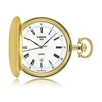 Tissot® Savonnette Brass Men's Pocket Watch