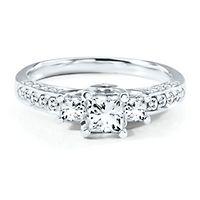 three stone engagement rings helzberg diamonds - Helzberg Wedding Rings