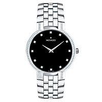 Movado® Faceto Diamond Men's Watch