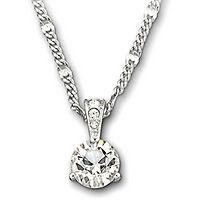Swarovski® Crystal Solitaire Pendant
