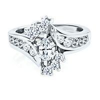 1 ct. tw. Diamond Engagement Ring Set in 14K Gold