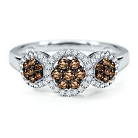 1/2 ct. tw. Sparkling Champagne® Diamond Ring in 10K White Gold