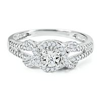 1/8 ct. tw. Diamond Promise Ring in Sterling Silver