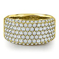 2 ct. tw. Diamond Anniversary Band in 14K Yellow Gold