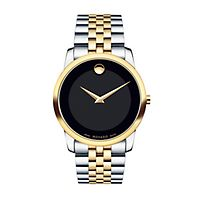 Movado® Museum Two-Tone Men's Watch