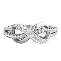 1/5 ct. tw. Diamond Ring in Sterling Silver