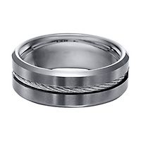 quick look - Tungsten Mens Wedding Rings