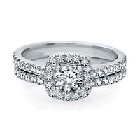 1 1/4 ct. tw. Diamond Engagement Ring Set in 14K White Gold