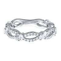1 ct. tw. Diamond Band in 10K White Gold