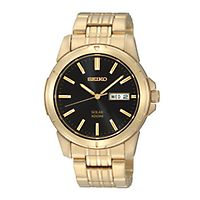 Seiko® Solar Men's Watch