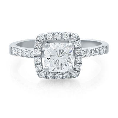 Halo Rings Halo Engagement Rings Helzberg Diamonds