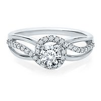 5/8 ct. tw. Diamond Engagement Ring in 14K White Gold