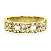 3/8 ct. tw. Diamond Band in 14K Yellow Gold