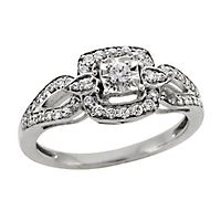 1/3 ct. tw. Diamond Ring in Sterling Silver