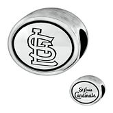 Expressions for Helzberg® St. Louis Cardinals Bead in Sterling Silver 2091858