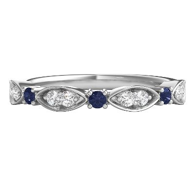 Gemstone Wedding Bands Helzberg Diamonds
