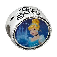 Expressions for Helzberg® Disney's Cinderella Bead in Sterling Silver