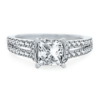 Artiste™ by Scott Kay 1/2 ct. tw. Diamond Semi-Mount Engagement Ring in 14K White Gold