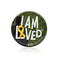 I Am Loved® Military Button 10-Pack