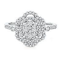 5/8 ct. tw. Diamond Ring in 14K White Gold