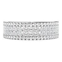 1 1/3 ct. tw. Diamond Anniversary Band in 14K White Gold