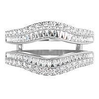 3/4 ct. tw. Diamond Ring Enhancer in 14K White Gold