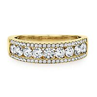 1 ct. tw. Diamond Anniversary Band in 14K Yellow Gold