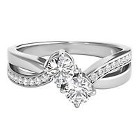 Exclusively Us® 5/8 ct. tw. Diamond Ring in 14K White Gold