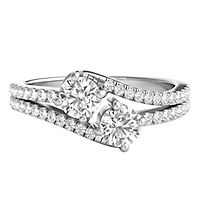 Exclusively Us® 1 ct. tw. Diamond Ring in 14K White Gold
