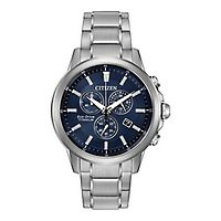 Citizen® Eco-Drive™ TI+IP Chronograph Men's Watch