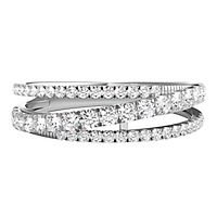 5/8 ct. tw. Diamond Anniversary Band in 14K White Gold