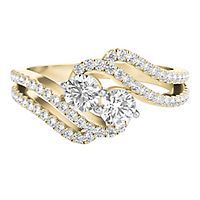 Exclusively Us® 3/4 ct. tw. Diamond Ring in 14K Yellow Gold