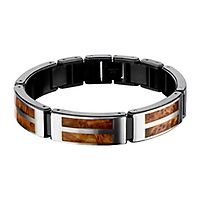 Hollis Bahringer Men's Bracelet in Stainless Steel