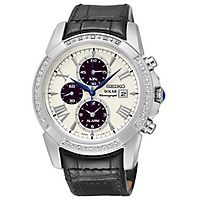 Seiko® Le Grand Sport Diamond Men's Watch