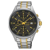 Seiko® Chronograph Men's Watch