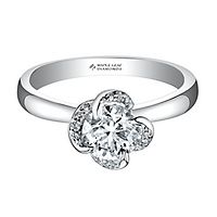 Maple Leaf Diamonds™ 3/8 ct. tw. Diamond Engagement Ring in 18K White Gold