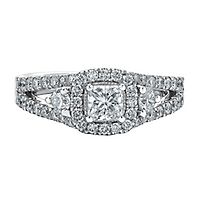 Maple Leaf Diamonds™ 1 5/8 ct. tw. Diamond Engagement Ring in 18K White Gold