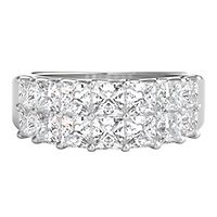 2 ct. tw. Diamond Anniversary Band in 14K White Gold