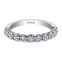 Maple Leaf Diamonds™ 3/4 ct. tw. Diamond Anniversary Band in 18K White Gold