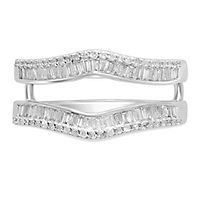 1/2 ct. tw. Diamond Ring Enhancer in 14K White Gold