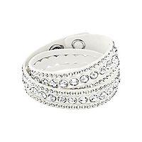 Swarovski® White Slake Dot Bracelet