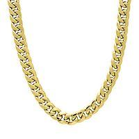 Men's Miami Cuban Link Chain in 14K Yellow Gold, 22