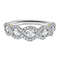 TRULY™ Zac Posen 1/2 ct. tw. Diamond Anniversary Band in 14K White Gold