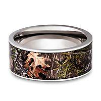 Lashbrook® Mossy Oak Camo Band in Titanium, 9MM