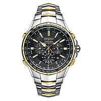 Seiko® Coutura Radio Sync World Time Men's Watch