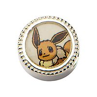 © Pokémon Eevee Bead in Sterling Silver