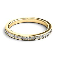 Helzberg Diamond Masterpiece® 1/5 ct. tw. Diamond Band in 18K Yellow Gold